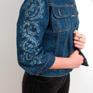Todd Oldham Vintage Jean Jacket, Size Small